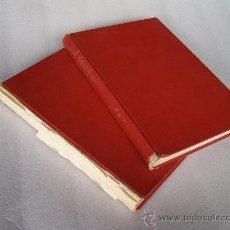 Collectionnisme sportif: FÚTBOL HISTORIA DE LA LIGA 1928 A 1970, EN DOS TOMOS. R. MELCÓN.. Lote 32371666
