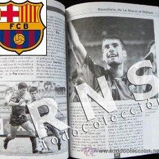 Coleccionismo deportivo: LIBRO FÁBRICA DE CAMPEONES MASÍA FC BARCELONA FÚTBOL CLUB BIOGRAFÍA DEPORTE PEP GUARDIOLA FOTOS. Lote 26198151