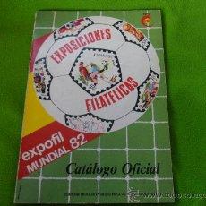 Coleccionismo deportivo: EXPOFIL MUNDIAL 82. EXPOSICIONES FILATELICAS. CATALOGO OFIACIAL. 102 PAGINAS. RUSTICA. ILUSTRACIONES. Lote 32691939