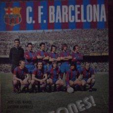 Coleccionismo deportivo: LIBRO CAMPEONES FUTBOL CLUB F.C BARCELONA FC BARÇA CF 1974 VER FOTOS . Lote 32822162