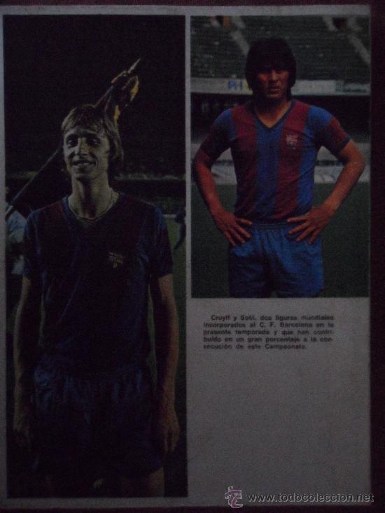 Coleccionismo deportivo: libro campeones futbol club f.c barcelona fc barça cf 1974 ver fotos - Foto 7 - 32822162