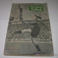 Coleccionismo deportivo: ANTIGUO LIBRO BREVIARIO DEL FUTBOL.. Lote 33068718