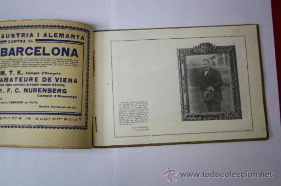 Coleccionismo deportivo: Antiguo Boletín Oficial del Fútbol Club / FC Barcelona, del Año 1922, con Publicidad Pirelli - Foto 2 - 33284052