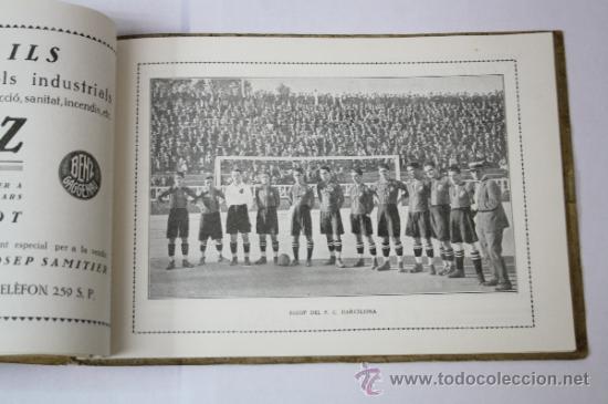 Coleccionismo deportivo: Antiguo Boletín Oficial del Fútbol Club / FC Barcelona, del Año 1922, con Publicidad Pirelli - Foto 4 - 33284052
