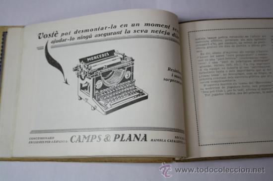 Coleccionismo deportivo: Antiguo Boletín Oficial del Fútbol Club / FC Barcelona, del Año 1922, con Publicidad Pirelli - Foto 5 - 33284052