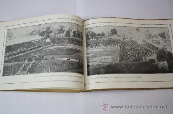Coleccionismo deportivo: Antiguo Boletín Oficial del Fútbol Club / FC Barcelona, del Año 1922, con Publicidad Pirelli - Foto 6 - 33284052