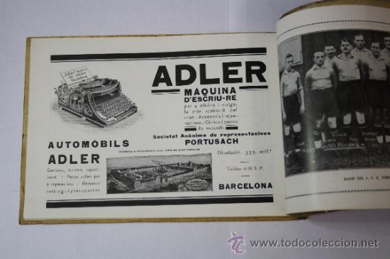 Coleccionismo deportivo: Antiguo Boletín Oficial del Fútbol Club / FC Barcelona, del Año 1922, con Publicidad Pirelli - Foto 8 - 33284052