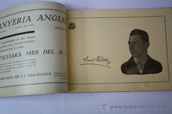 Coleccionismo deportivo: Antiguo Boletín / Butlletí Oficial del Fútbol Club / FC Barcelona del Año 1926 - Foto 4 - 33284091