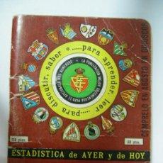 Coleccionismo deportivo: DINAMICO - ARTESANIA TIPOGRAFICA - TEMPORADA 1980-1981 - CALENDARIO Y FOTOS EQUIPOS 1ª Y 2ª DIVIS. . Lote 33879014