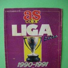 Coleccionismo deportivo: EXTRA LIGA AS COLOR 1990 1991 90 91 LA SESENTA EDICION DEL TORNEO DE LA REGULARIDAD. Lote 33858338