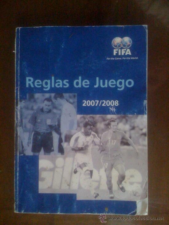 REGLAS DE JUEGO. 2007/2008. FIFA (Coleccionismo Deportivo - Libros de Fútbol)