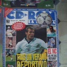 Coleccionismo deportivo: GUÍA CD-ROM ZINCO MULTIMEDIA. NÚMERO 10. DEPORTE 1996 (SIN CD). Lote 34003190