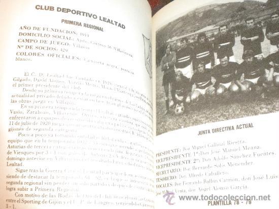 Coleccionismo deportivo: Equipos regionales asturianos / Adolfo Casero , 1979 - Foto 3 - 34230385