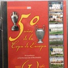 Coleccionismo deportivo: COLECCION COMPLETA 50 AÑOS DE LA COPA DE EUROPA 8 TOMOS - 1953 - 2005 - DIARIO AS - CHAMPIONS AFF. Lote 45708753