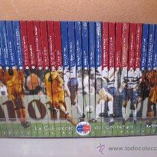Coleccionismo deportivo: LA COL.LECCIÓ DEL CENTENARI 1899-1999 - BIBLIOTECA BASICA F.C. BARCELONA - COMPLETA - BARCANOVA.. Lote 35797573