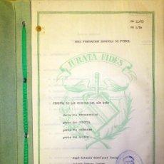 Coleccionismo deportivo: AUDITORIA ORIGINAL CUENTAS FEDERACION ESPAÑOLA FUTBOL MUNDIAL ESPAÑA FIFA FOOTBALL 1982 RFEF. Lote 36391378