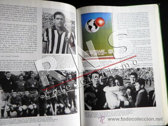 Coleccionismo deportivo: GRAN LIBRO DE LOS MUNDIALES - FÚTBOL MUNDIAL DEPORTE HISTORIA FOTOS - ESPAÑA 82 ETC- 1930 - 1982 - Foto 5 - 36418270