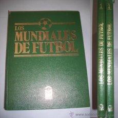 Coleccionismo deportivo: LOS MUNDIALES DE FÚTBOL : HISTORIA VIVA DE LOS DIEZ CAMPEONATOS (...). Lote 36765970