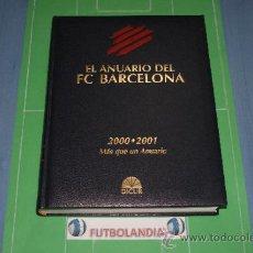 :LIBRO EL ANUARIO DEL F.C.BARCELONA 2000-2001,DE EDITORIAL DICUR,AÑO 2001