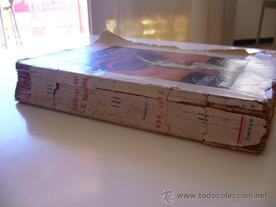 Coleccionismo deportivo: Libro del 25 aniversario F.C. Barcelona. Noces d´argent 1924 Volum 3 III - Foto 3 - 37055935