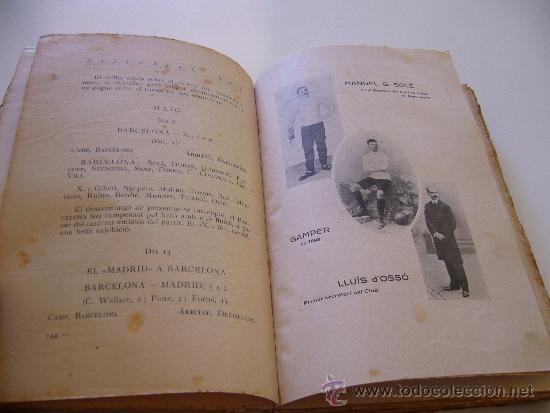 Coleccionismo deportivo: Libro del 25 aniversario F.C. Barcelona. Noces d´argent 1924 Volum 3 III - Foto 7 - 37055935