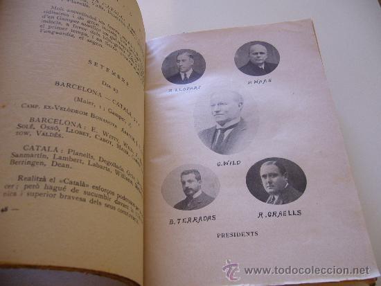 Coleccionismo deportivo: Libro del 25 aniversario F.C. Barcelona. Noces d´argent 1924 Volum 3 III - Foto 9 - 37055935