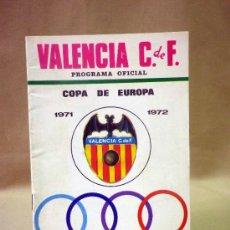 Coleccionismo deportivo: REVISTA, PROGRAMA OFICIAL, KLUB HAJDUK SPLIT, VALENCIA, COPA DE EUROPA. SEPTIEMBRE 1971. Lote 37418462