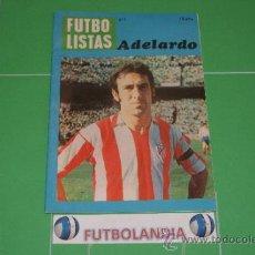 Coleccionismo deportivo: LIBRITO FUTBOLISTAS Nº1 ADELARDO DEL AT.MADRID. Lote 37640922