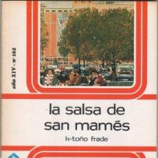 Coleccionismo deportivo: LIBRO LA SALSA DE SAN MAMÉS ATHLETIC CLUB DE BILBAO. Lote 40599735