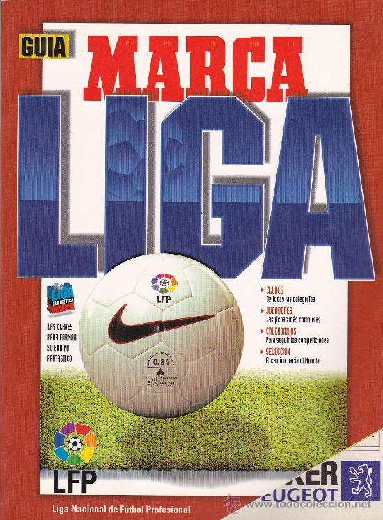 GUIA MARCA TEMPORADA DE LIGA DE FUTBOL 96-97 PRIMERA HOJA DAÑADA, RESTO PERFECTO (Coleccionismo Deportivo - Libros de Fútbol)