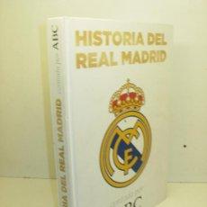 Coleccionismo deportivo: LIBRO / ALBUM HISTORIA DEL REAL MADRID CONTADA POR ABC VACIO. Lote 38754802