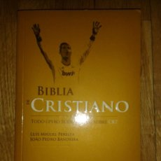 Coleccionismo deportivo: LIBRO BIBLIA DE CRISTIANO RONALDO; ; TODO SOBRE CR7; 209 PÁGINAS, EDICIÓN TAPAS BLAND. Lote 38988918