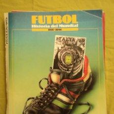 Coleccionismo deportivo: FASCICULOS COLECCIONABLES FUTBOL MUNDIAL 1930 1990 LAS PROVINCIAS. Lote 39088004