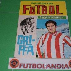 Coleccionismo deportivo: LIBRITO FIGURAS DEL FUTBOL GRIFFA DEL AT.MADRID. Lote 37640956