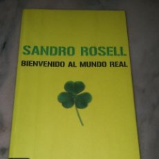 Coleccionismo deportivo: BIENVENIDO AL MUNDO REAL - SANDRO ROSSELL - F.C. BARCELONA - BARÇA. Lote 39688040