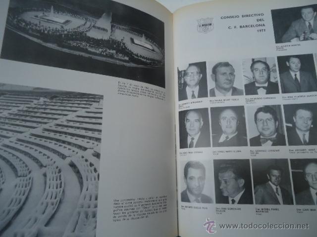 Coleccionismo deportivo: LIBRO HISTORIA del C.F. BARCELONA 1971 415 PÁGINAS FUTBOL BARÇA - Foto 7 - 39918707