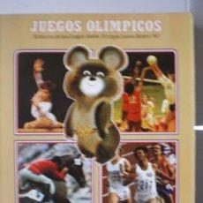 Coleccionismo deportivo: JUEGOS OLIMPICOS. Lote 39925613