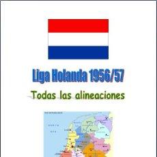 Coleccionismo deportivo: FÚTBOL. LIGA HOLANDA 1956/57. Lote 40352786