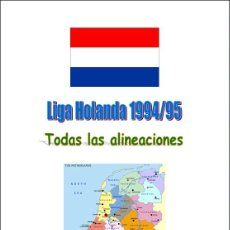 Coleccionismo deportivo: FÚTBOL. LIGA HOLANDA 1994/95. Lote 40352976