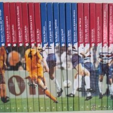 Coleccionismo deportivo: LIBRO COL.LECCIÓ DEL CENTENARI DEL F.C. BARCELONA (COMPLETA 30 LIBROS NUEVOS). Lote 40444524