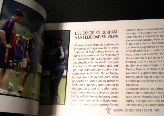 Coleccionismo deportivo: Andres Iniesta 8 grandes historias - Foto 2 - 44269274