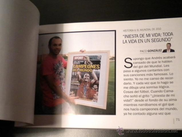 Coleccionismo deportivo: Andres Iniesta 8 grandes historias - Foto 6 - 44269274