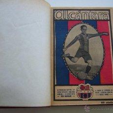 Coleccionismo deportivo: LIBRO FIGURAS DEL FOOT-BALL.LA JORNADA DEPORTIVA.ALCÁNTARA,ZAMORA,PIERA,SAMITIER,BELAUSTE.AÑOS 20.. Lote 40685713