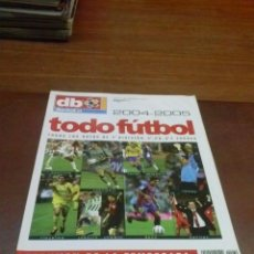 Coleccionismo deportivo: REVISTA DON BALON TODO FUTBOL 2004-2005. Lote 40865107
