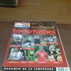 Coleccionismo deportivo: REVISTA DON BALON TODO FUTBOL 2005-2006. Lote 40865124