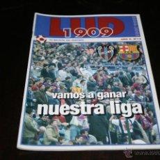 Coleccionismo deportivo: PROGRAMA FÚTBOL LEVANTE - BARCELONA TEMPORADA 04-05. Lote 41249419