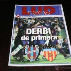 Coleccionismo deportivo: PROGRAMA FÚTBOL LEVANTE - VALENCIA TEMPORADA 04-05. Lote 41250349