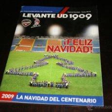 Coleccionismo deportivo: PROGRAMA FÚTBOL LEVANTE ESPECIAL ANIVERSARIO 1909-2009. Lote 41251585