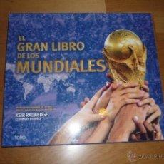 Collezionismo sportivo: EL GRAN LIBRO DE LOS MUNDIALES. ED. FOLIO. 2002. Lote 41315858
