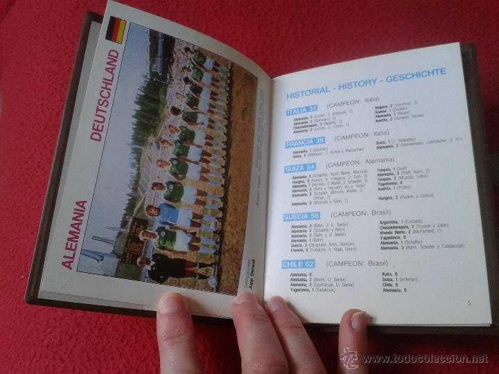 Coleccionismo deportivo: INTERESANTE GUIA LIBRO MUNDI-GUIA CYS COPA MUNDIAL 1982 DE FUTBOL FIFA BUEN ESTADO - Foto 3 - 41508618
